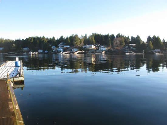 Cottages at Woods End Landing in Bamfield : Views from Woods End Landing