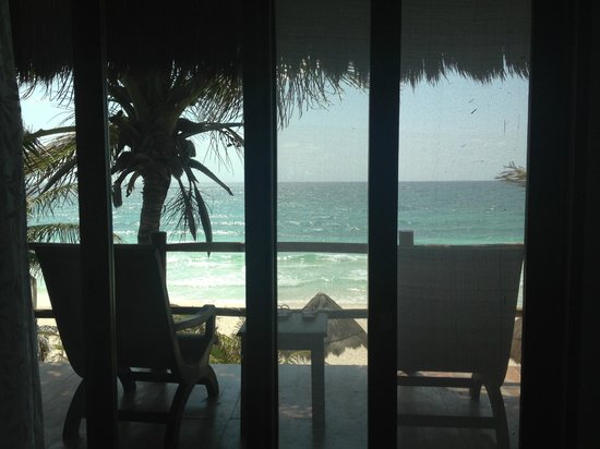 Encantada Tulum: View from our room