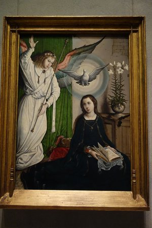 National Gallery of Art: Juan de Flandes: Annunciation