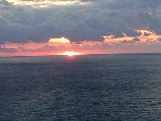 Trump International Beach Resort: early morning veiw from balcony