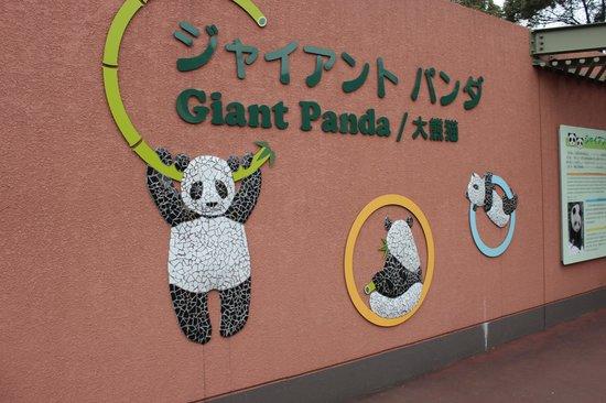 Ueno Zoo: Entrata nella zona dei panda