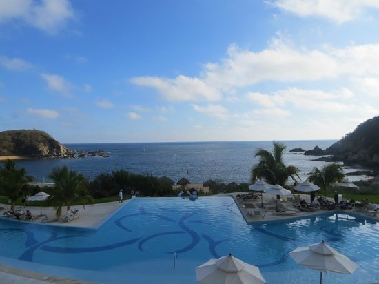 Secrets Huatulco Resort & Spa: View from our room