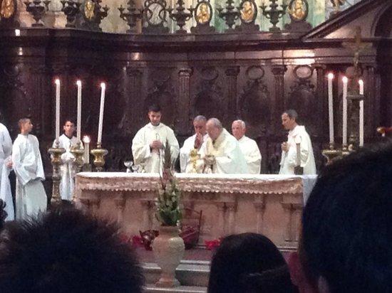 Havana Cathedral: El Arsobispo Jaime Ortega