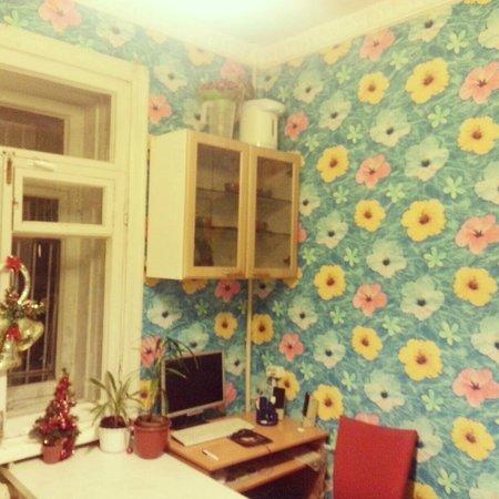 Sonett Regata Hostel: кухня
