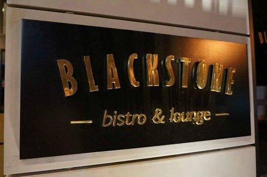 Blackstone: The restaurant.
