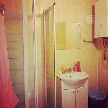 Sonett Regata Hostel: душ
