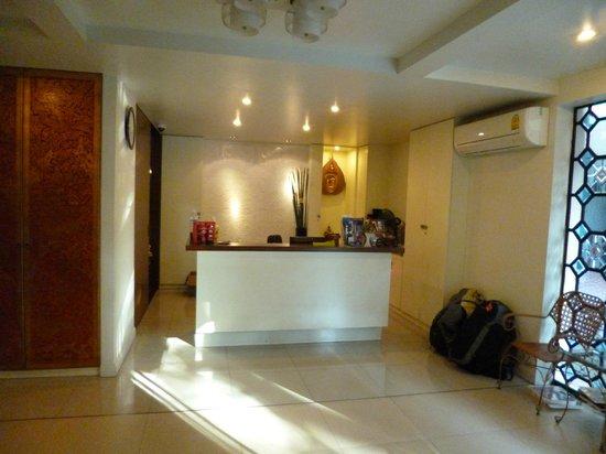 Baan Udom: Réception de l'hôtel