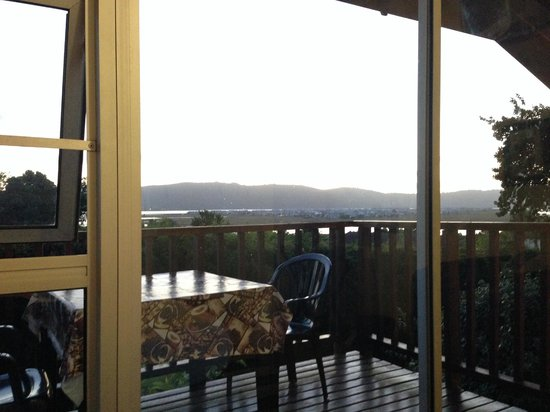 Knysna B&B King of Kings: Day view from balcony