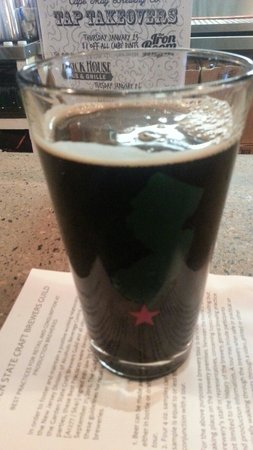 Cape May Brewing Company : Imperial stout. Hoppy, strong, robust, crisp, notes of coffee and oak. Drinks like an ipa. Love