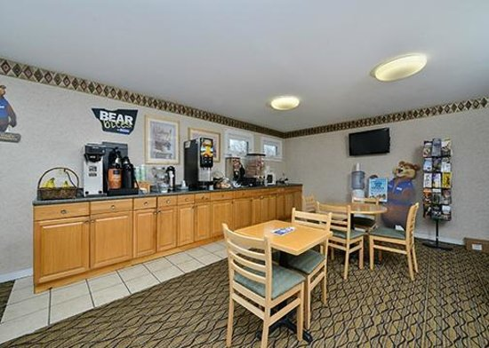 Travelodge Great Barrington Berkshires: Breakfast Area