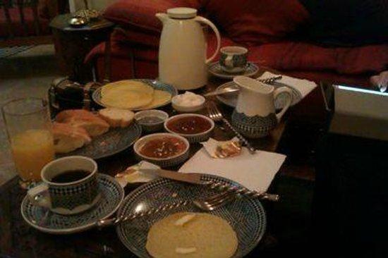 Dar Alhambra: Breakfast