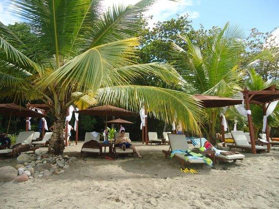 Ti Kaye Resort & Spa: doing some swimming