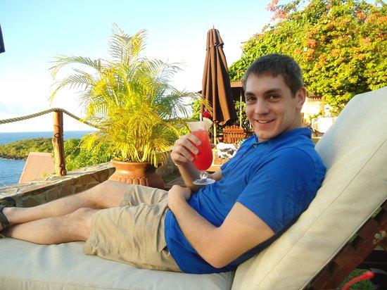 Ti Kaye Resort & Spa: lounging around the resort