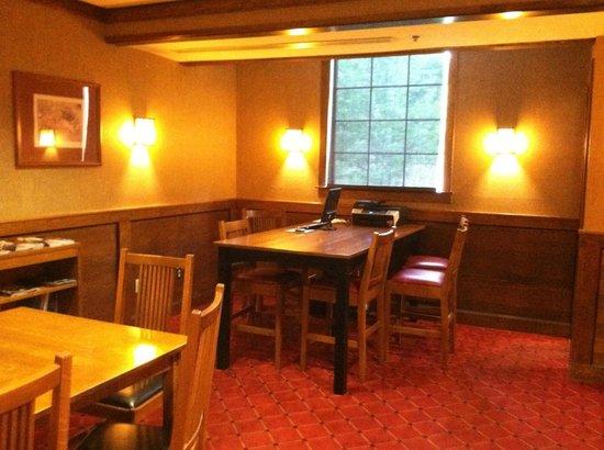 Craftsman Inn: The Lobby