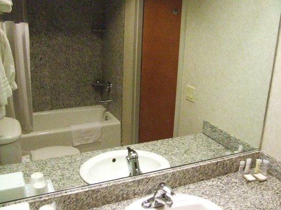 Hotel Aura San Bruno: Bathroom