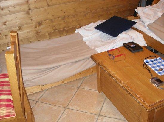 Belambra Clubs - Le Hameau des Airelles : c'est le tiroir àroulettes dans lequel j'ai dormi pendant 1 semaine