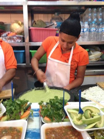 Mercado 20 de Noviembre: The best guacamole