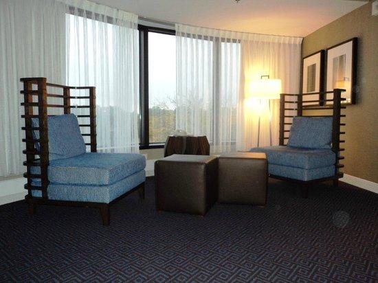 Hyatt Regency Lisle near Naperville : guest room