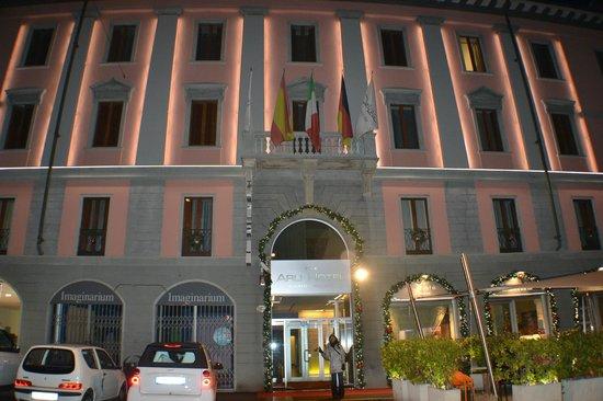 Arli Hotel: entrada