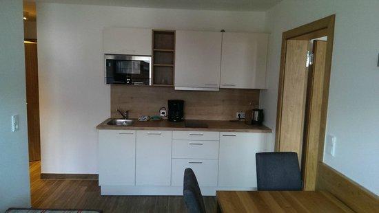 Appartementhaus Spiegl : Keuken