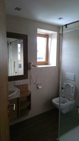 Appartementhaus Spiegl : badkamer