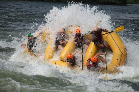 Nalubale Rafting : before falling