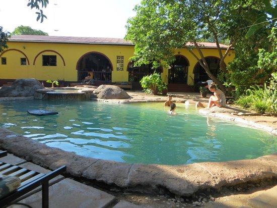 Jollyboys International Backpackers: Jollyboys pool