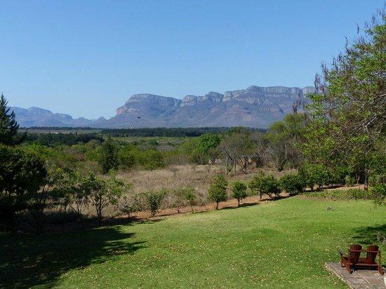 Zuleika Country House: Vistas desde el desayuno de Zuleika