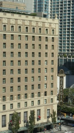 Fairmont Hotel Vancouver: The Hotel George across the street from our room