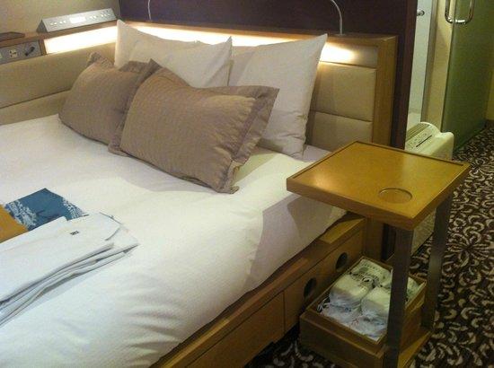 Hotel Ryumeikan Tokyo: letto