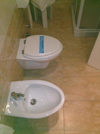 Park Hotel La Grave: bagno