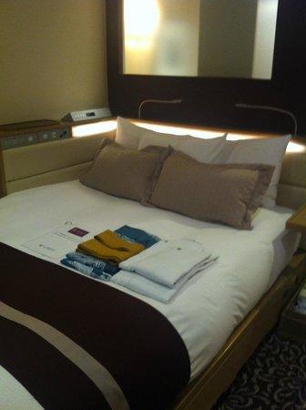 Hotel Ryumeikan Tokyo : letto