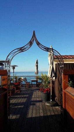 La Casa del Camino: Rooftop Lounge at hotel