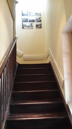 Templers Boutique Hotel: The stairs to the room