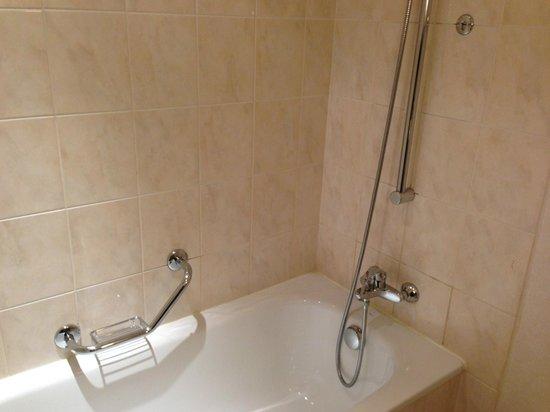 Paris Marriott Charles de Gaulle Airport Hotel: Shower/Tub Combo