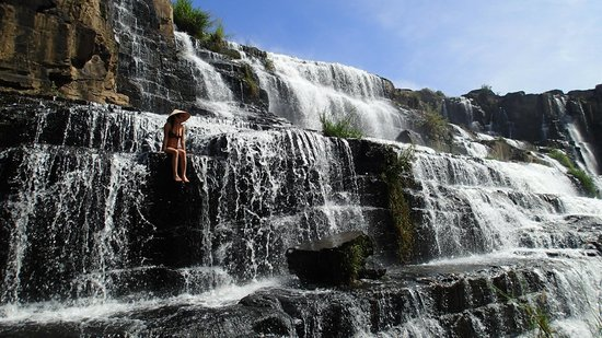 Dalat, Vietnam: A beautiful waterfall