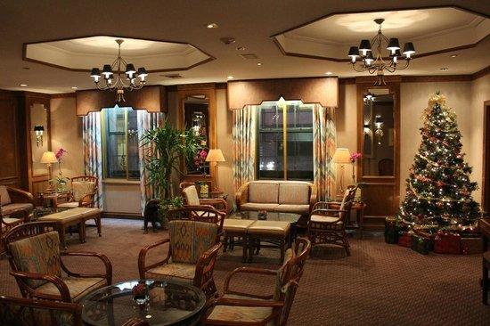 Casablanca Hotel Times Square: saletta colazione/happy hour