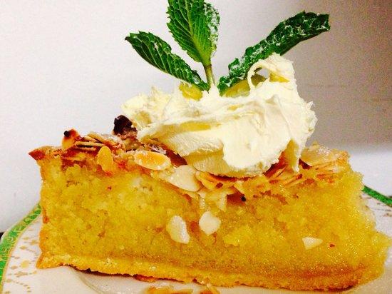 Love Cake etc: Pear almond tart