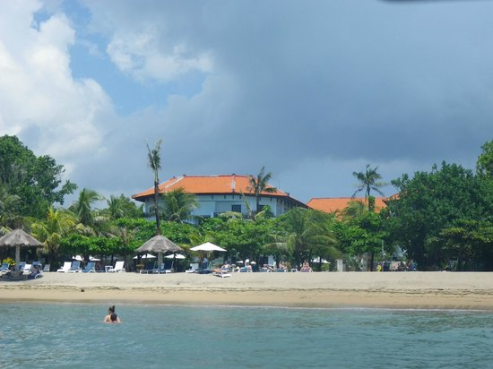Club Bali Mirage: From the sea