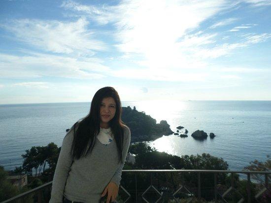 Hotel Isola Bella: hermosa vista
