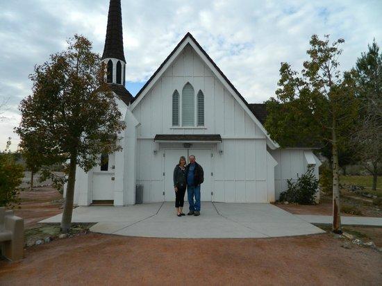 Clark County Heritage Museum Candlelight Wedding Chapel