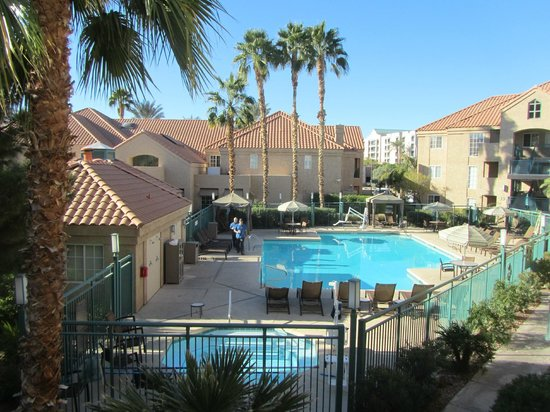 pool area picture of hyatt house scottsdale old town. Black Bedroom Furniture Sets. Home Design Ideas