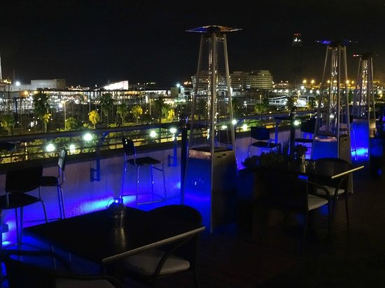 Hotel Duquesa de Cardona : Dachterrasse
