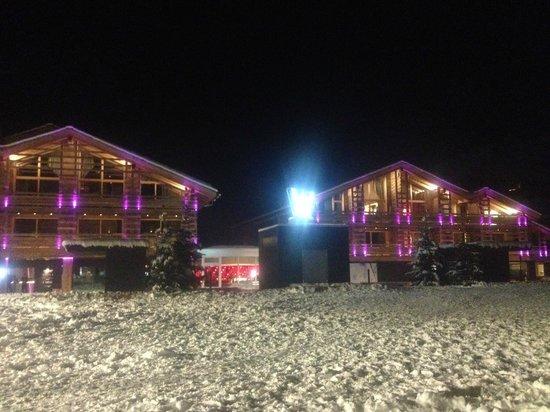 W Verbier : night atmosphere