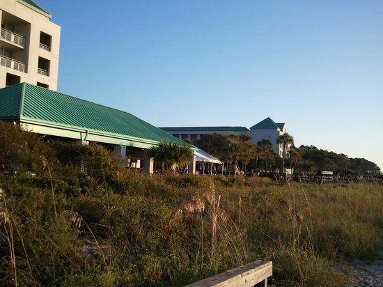 The Westin Hilton Head Island Resort & Spa : view from the beach