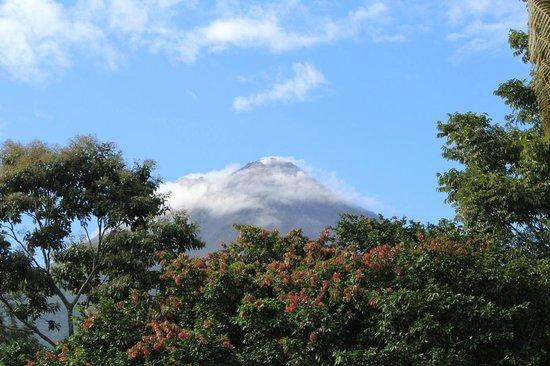 Volcano Lodge & Springs : Volcano Arenal dalla nostra stanza