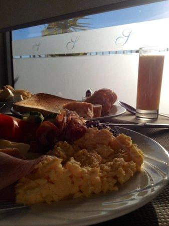 Splendid Hotel & Spa : Breakfast on the rooftop