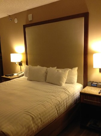 Hyatt Regency Denver Tech Center: Comfortable bed