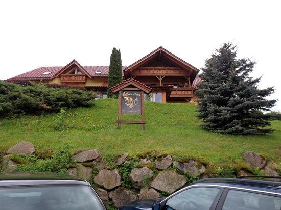 Wellnesshotel Talblick: Wellnesshotel voorzijde