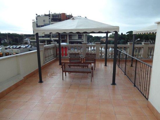 Aurelius Art Gallery Hotel : Room balcony